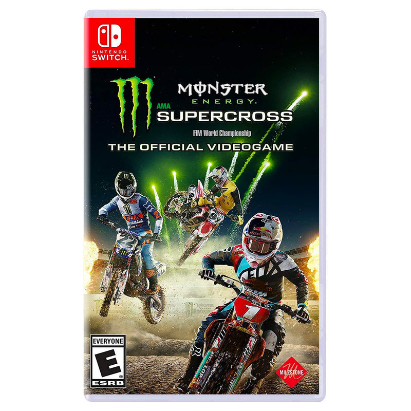 Monster Energy Supercross The Official Videogame - Juego para Nintendo Switch