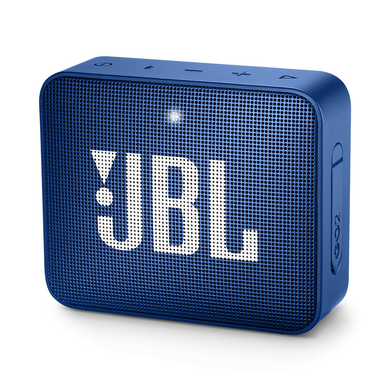 Bocina inalámbrica JBL GO 2, IPX7, Bluetooth, color azul
