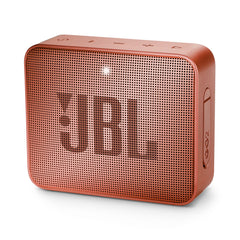 Bocina inalámbrica JBL GO 2, IPX7, Bluetooth, color canela