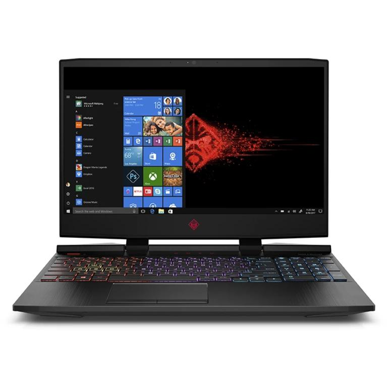 Notebook Gaming HP OMEN 15, Intel Core i7 8750H, 16GB RAM, Disco duro 1TB + 256GB SSD, Windows 10