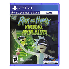 Rick and Morty Virtual Rick-ality - Juego para PlayStation 4 - Multimax