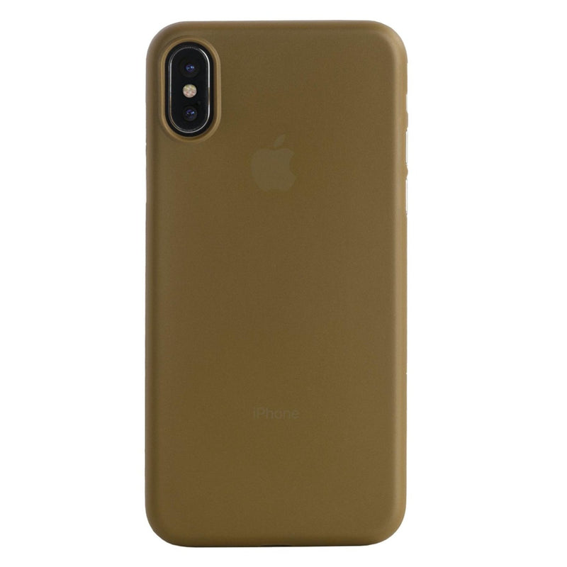 Estuche para iPhone X Tucano, gold