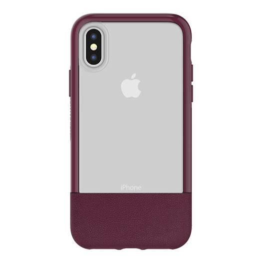 Estuche para iPhone X Otterbox Statement, lucent wine