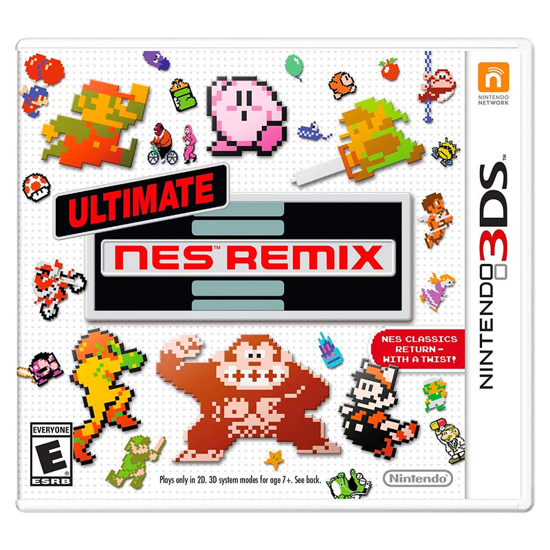 Ultimate NES Remix - Juego para Nintendo 3DS