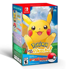 Pokémon Let's Go Pikachu + Poke Ball Plus Bundle - Juego para Nintendo Switch