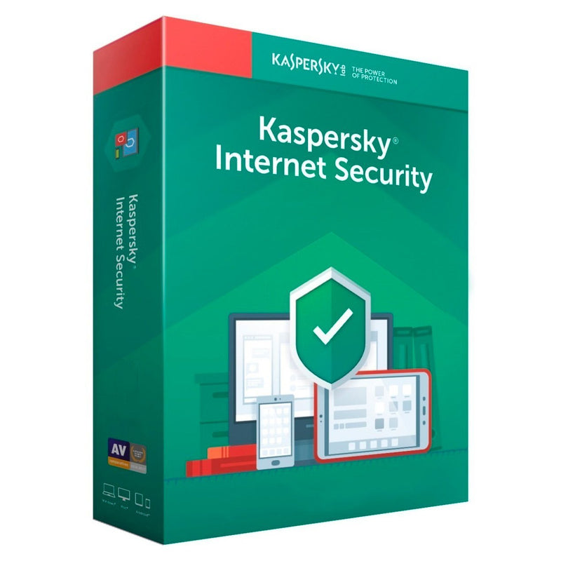 Licencia Kaspersky Internet Security 2019 para 1 dispositivo