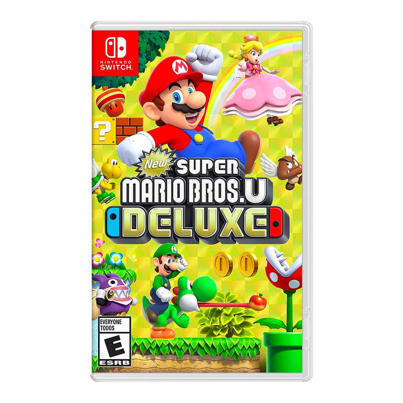 New Super Mario Bros U Deluxe - Juego para Nintendo Switch