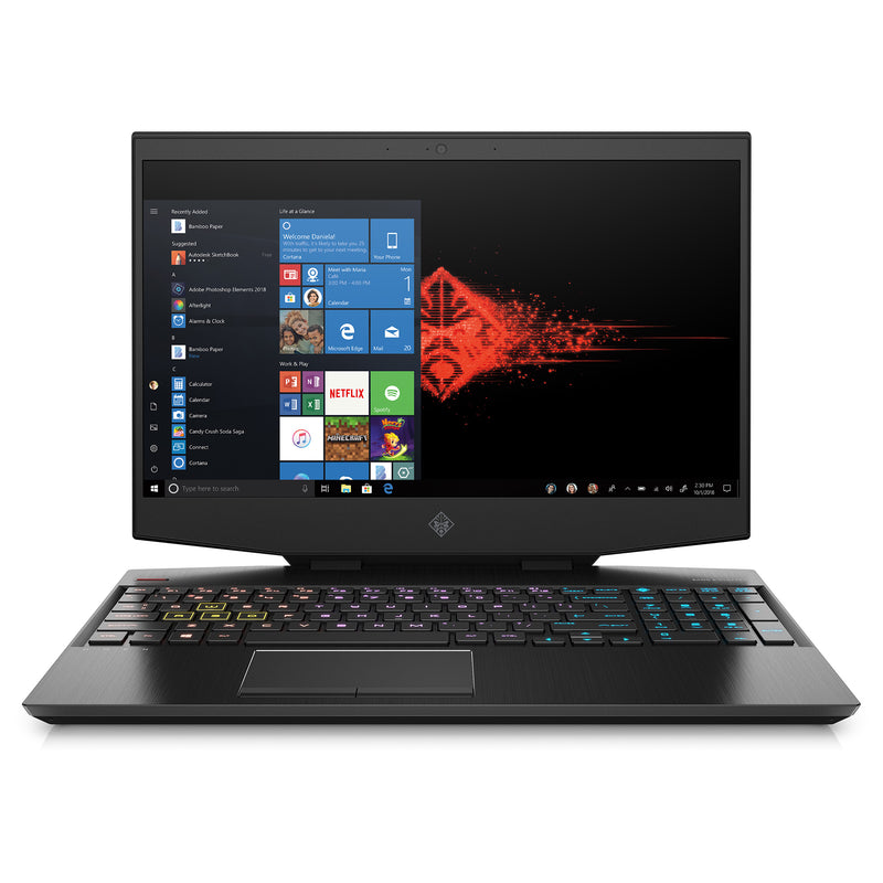 "Notebook Gaming HP OMEN, Core i7 9750H, 16GB RAM, 1TB / 128GB SSD, 15.6"", GeForce GTX 1660Ti, Win10"