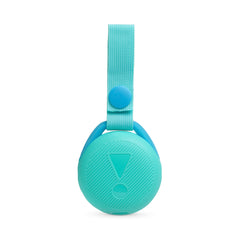Bocina inalámbrica JBL JR POP, IPX7, Bluetooth, celeste