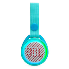 Bocina inalámbrica JBL JR POP, Waterproof IPX7, Bluetooth, color celeste