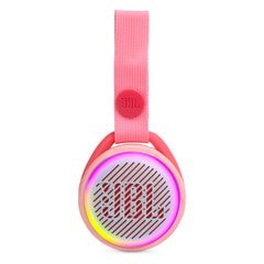 Bocina inalámbrica JBL JR POP, IPX7, Bluetooth, rosado