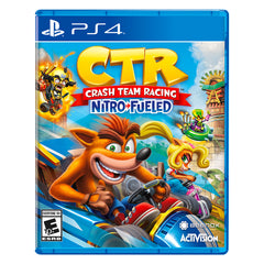 Crash Team Racing Nitro Fueled - Juego para PlayStation 4