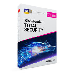 Licencia Antivirus Bit Defender, Total Security, 3 Multi-Device