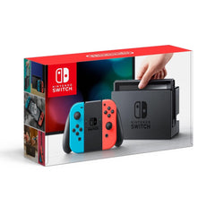 Consola Nintendo Switch, color neon