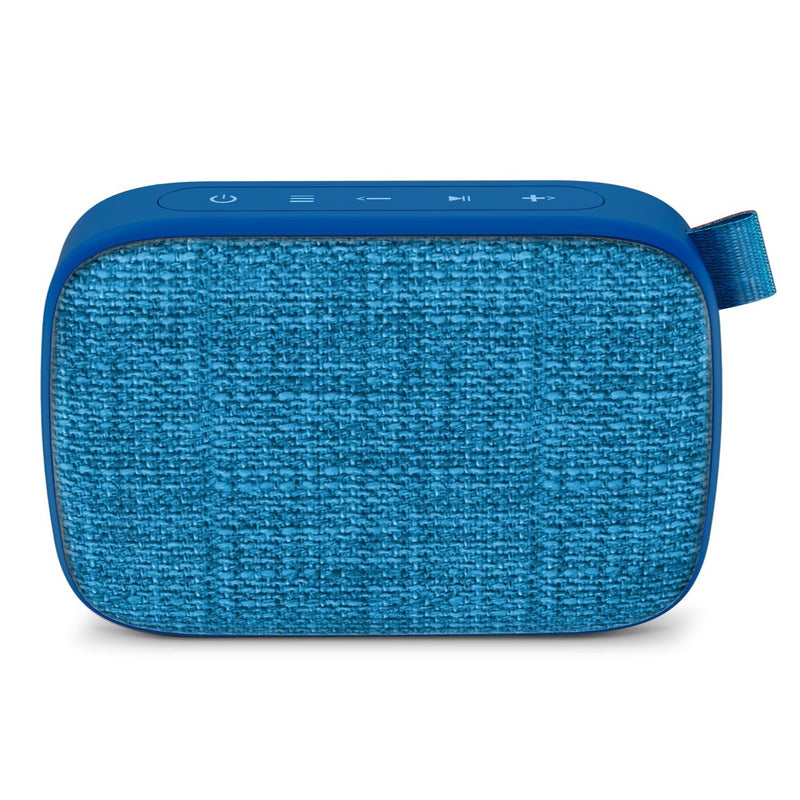 Bocina inalámbrica Energy Sistem Fabric Box1+, puerto micro SD, radio FM, bluetooth, blueberry - Multimax
