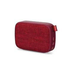 Bocina inalámbrica Energy Sistem Fabric Box1+, puerto micro SD, radio FM, Bluetooth, cherry