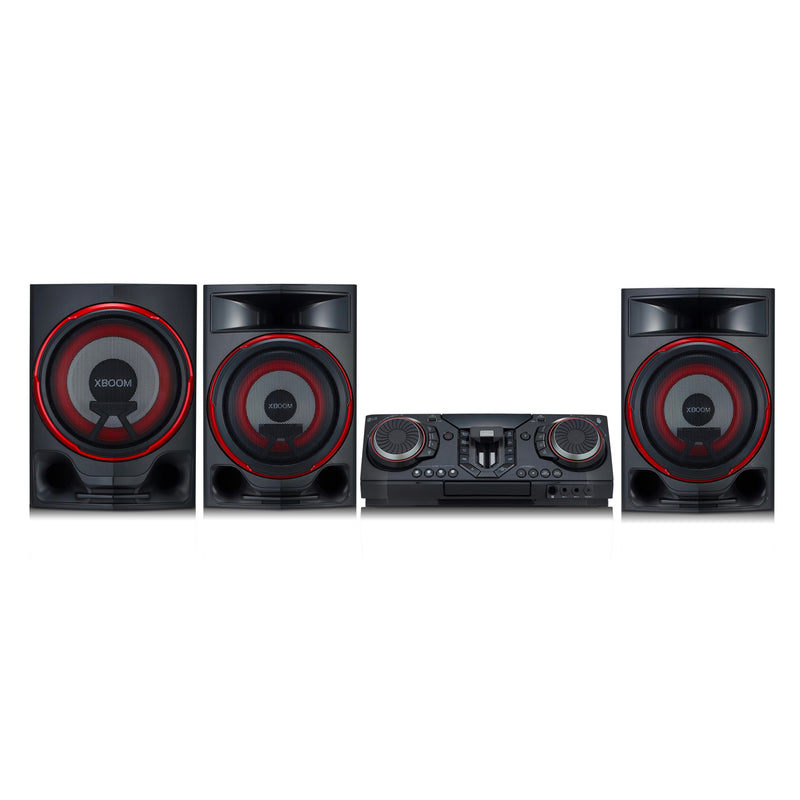 Minicomponente LG CL88, 2900W RMS, Bluetooth, USB - Multimax