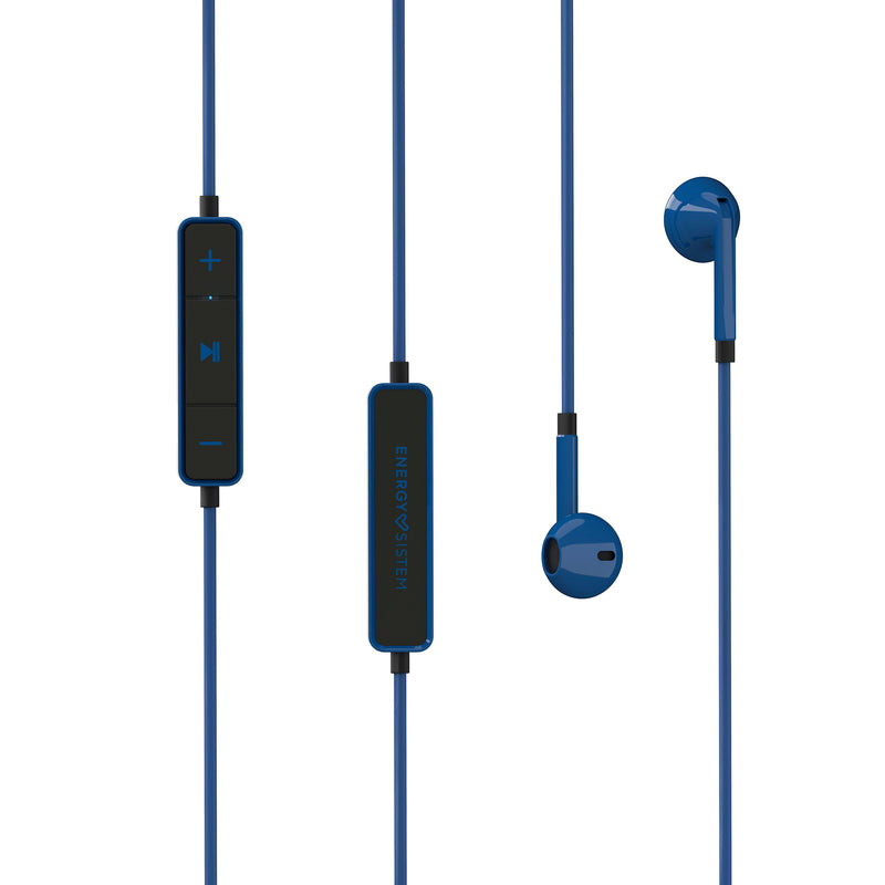 Audífono inalámbrico Energy Sistem Earphones 1, Bluetooth, azul