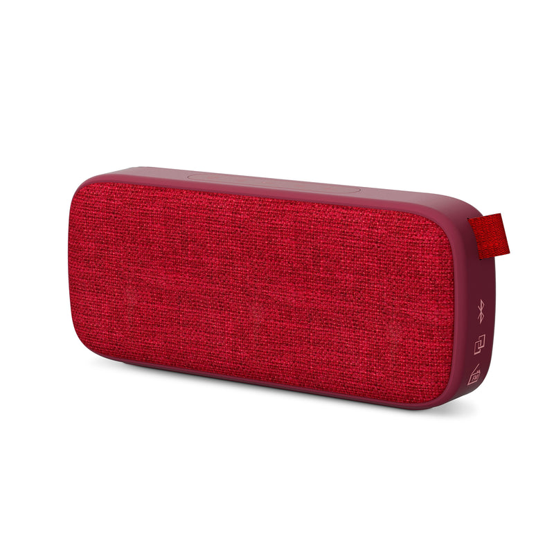 Bocina inalámbrica Energy Sistem Fabric Box3+, puerto micro SD, radio FM, bluetooth, cherry