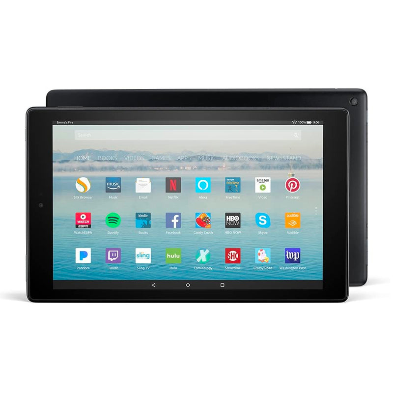 "Tablet Amazon Fire 10 2019, 10"", 32GB, WiFi, color negro"