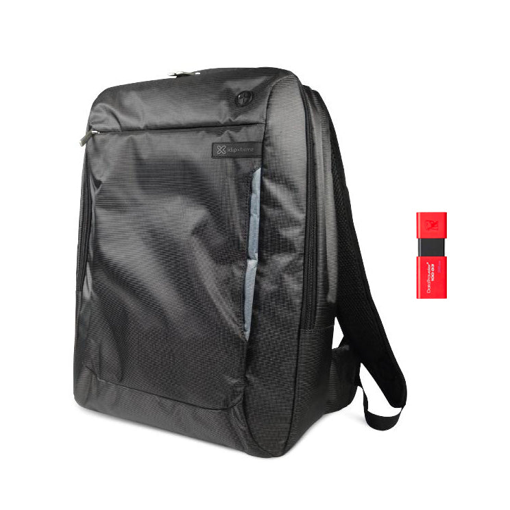 Kit Mochila Klip Xtreme Towner KNB-560 + Memoria USB 32GB Kingston