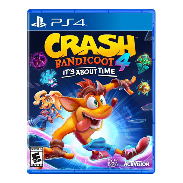 Crash Bandicoot 4 Its About Time - Juego para Playstation 4 - Multimax