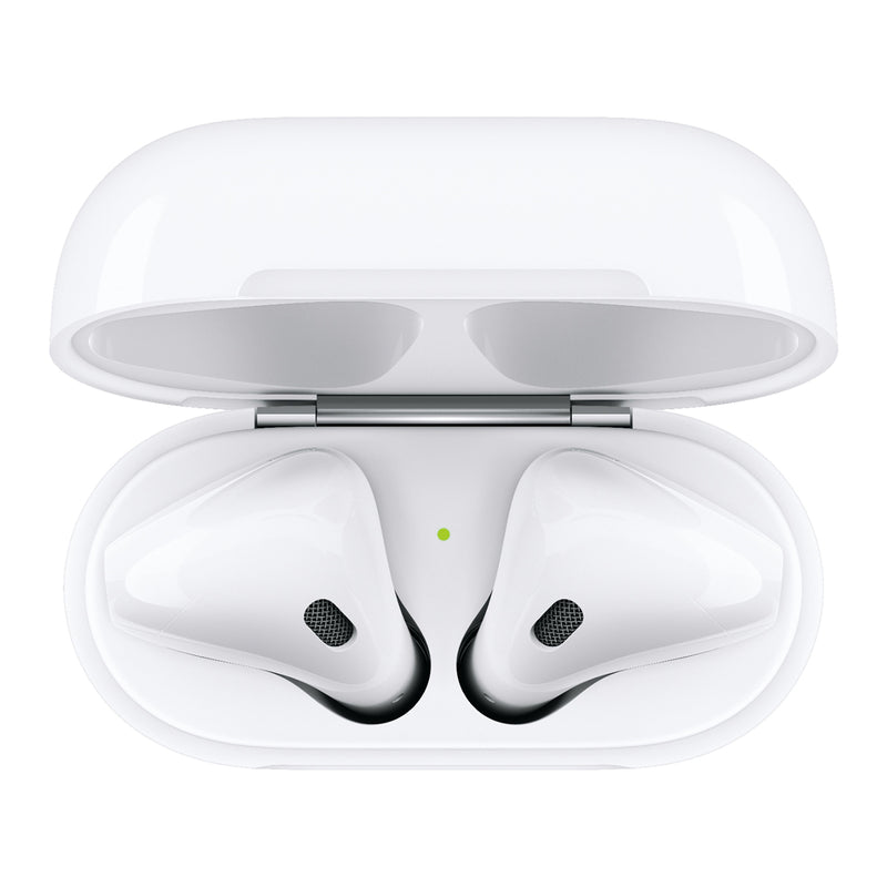 Apple Airpods, 2da generación, estuche de carga, blanco - Multimax