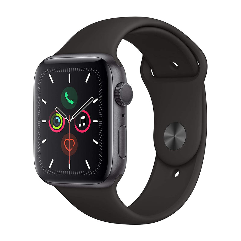 Apple Watch S5, 44mm, GPS, gris espacial (Refurbished)