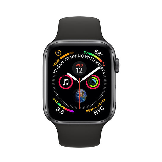 Apple Watch S4, 44mm, GPS, gris (Refurbished)