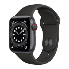 Apple Watch S6, 40mm, GPS, nivel de oxígeno en la sangre, frecuencia cardiaca, gris espacial
