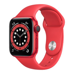 Apple Watch S6, 40mm, GPS, nivel de oxígeno en la sangre, frecuencia cardiaca, rojo