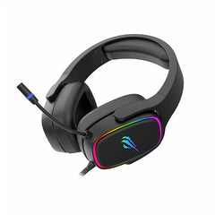 Audífonos gaming Havit H2029U, C/MIC, con cable de 2 metros, luces RGB - Multimax