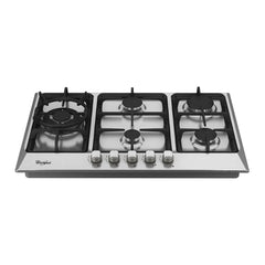 Estufa empotrable a gas Whirlpool WP3040S, 30