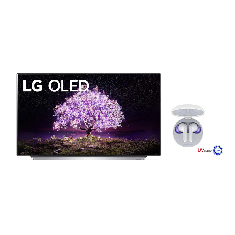 "Kit Smart TV LG OLED de 55"" y GRATIS Audífonos inalámbricos LG Tone Free FN6 - Multimax"
