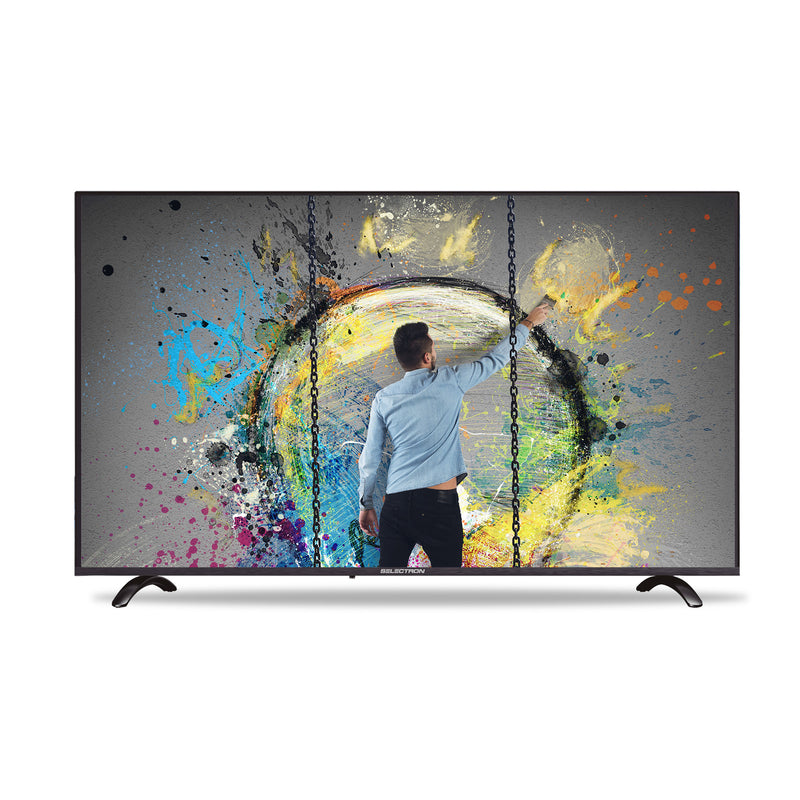"Smart TV Selectron S4K-55C00, 55"", 4K, WiFi, HDMI, USB, ISDB-T"
