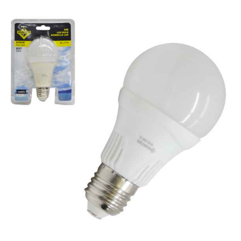 Bombillo LED, 9 watts, 110V