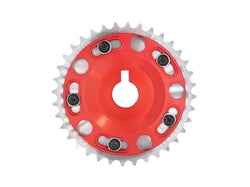 Fidanza Adjustable Cam Gear Red - 986839 - 1996-2004 Ford Mustang 4.6L LH (SOHC & DOHC)