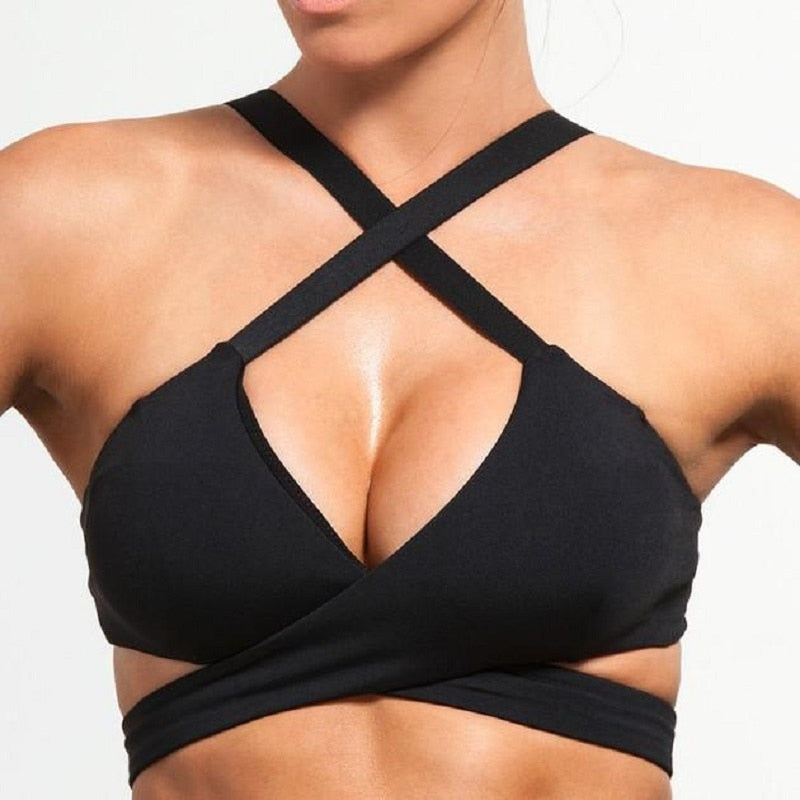 Halter Cross Top