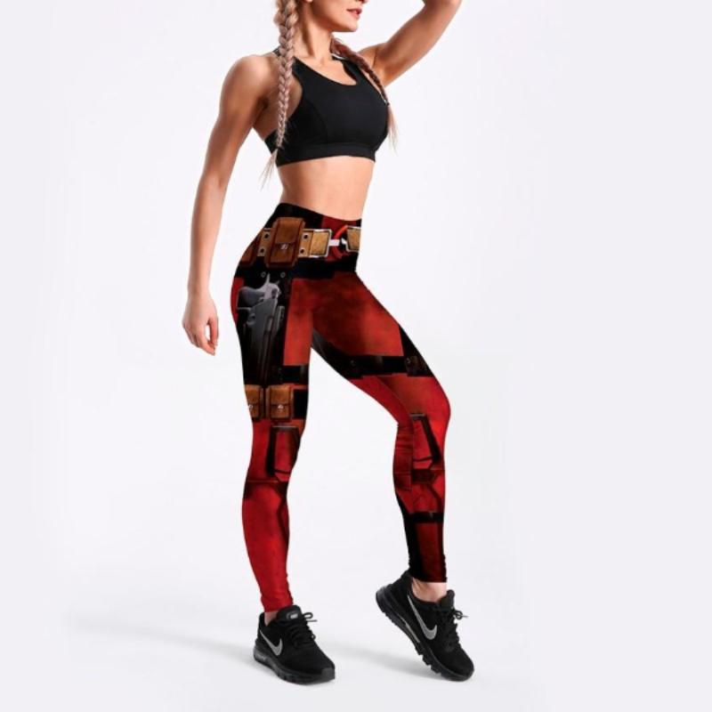 Deadpool Printed Leggings