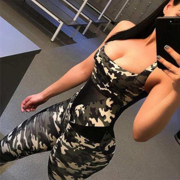 Camo Boss Jumpsuit