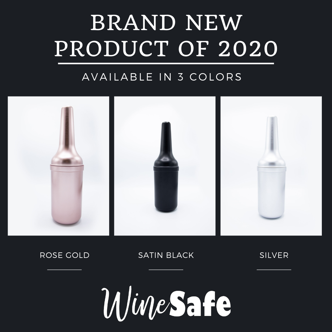 WineSafe: Shimmer Rose Gold