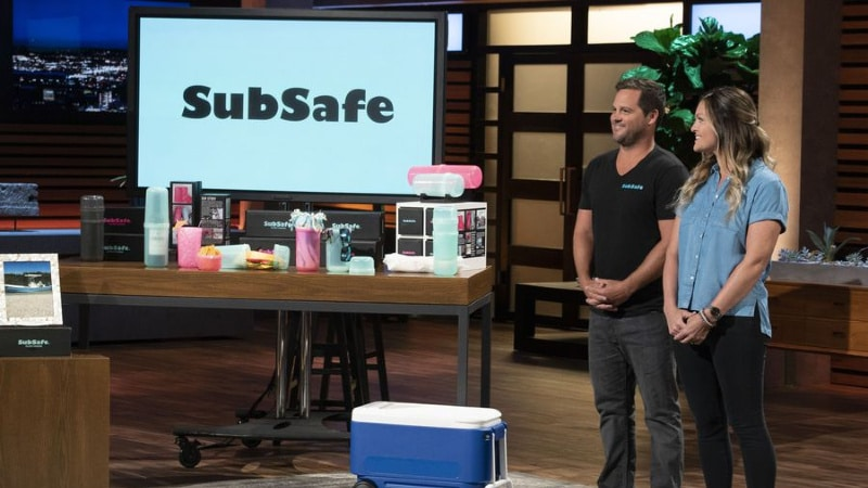 "SUBSAFE™: ""Seafoam Green"" Sandwich Container"