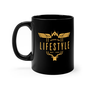 Black Lifestyle mug 11oz