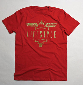 Red Lifestyle T-shirt