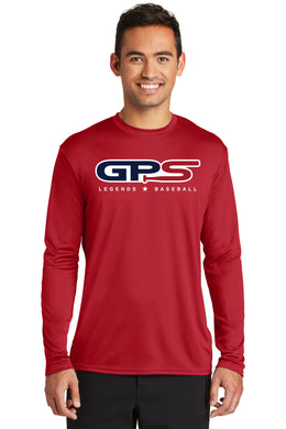 Red Dry-Fit Long Sleeve