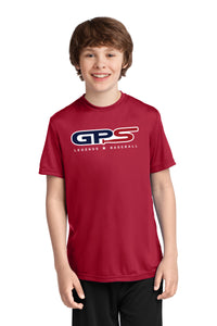 Red Youth Short Sleeve Dry-Fit