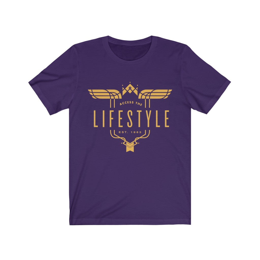 Gold Logo Unisex Short Sleeve Tee