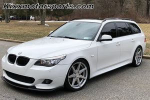 "BME 335xi Touring with 19"" Rohana RC7 Silver concave staggered wheels by Kixx Motorsports http://kixxmotorsports.com"
