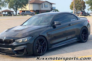 "BMW M5 with 20"" Rohana RFX11 Black staggered concave wheels by Kixx Motorsports https://www.kixxmotorsports,com 6"