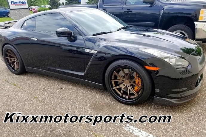 Our Latest Nissan GTR with 20x10.5 20x11.5 Bronze Deep Concave Wheels